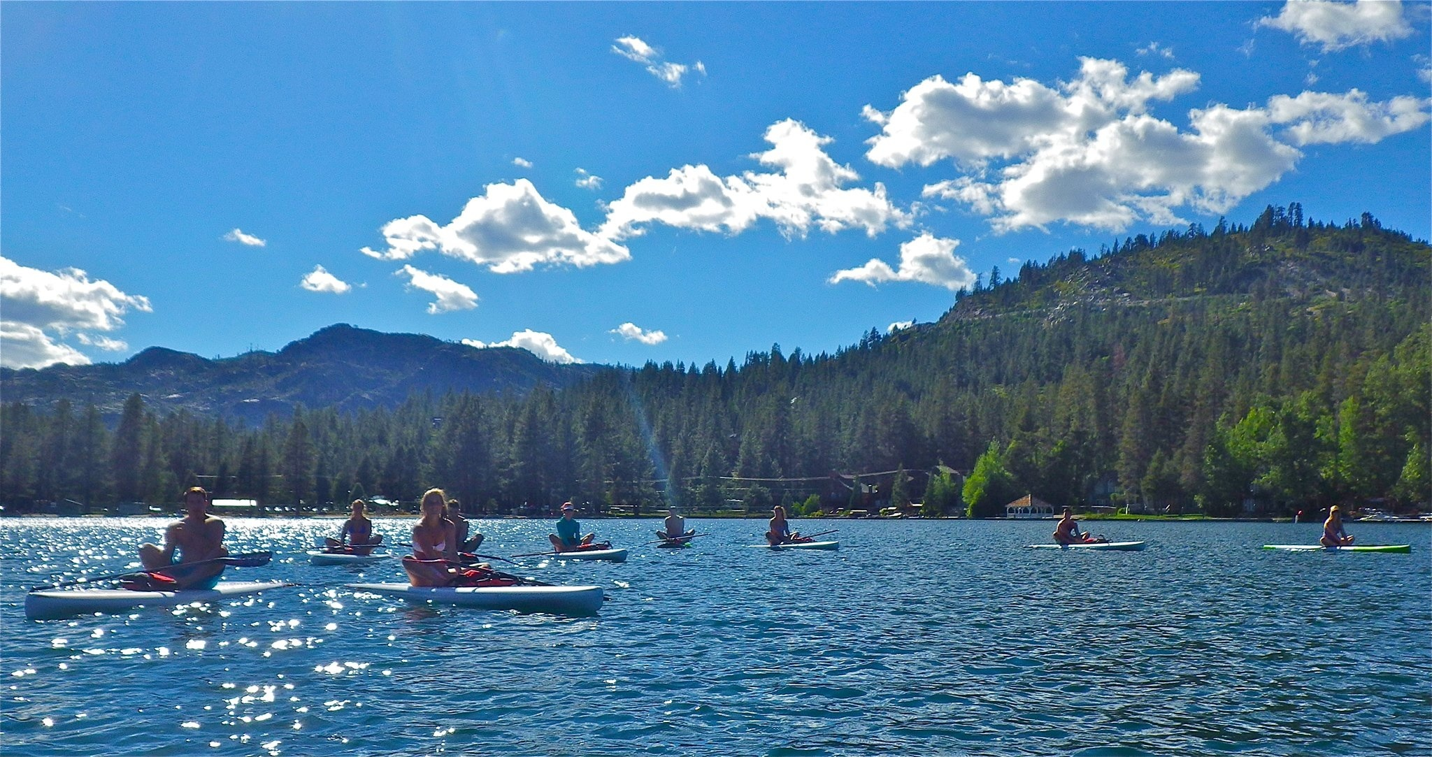 Donner Lake Summer Summer Sup on Donner Lake